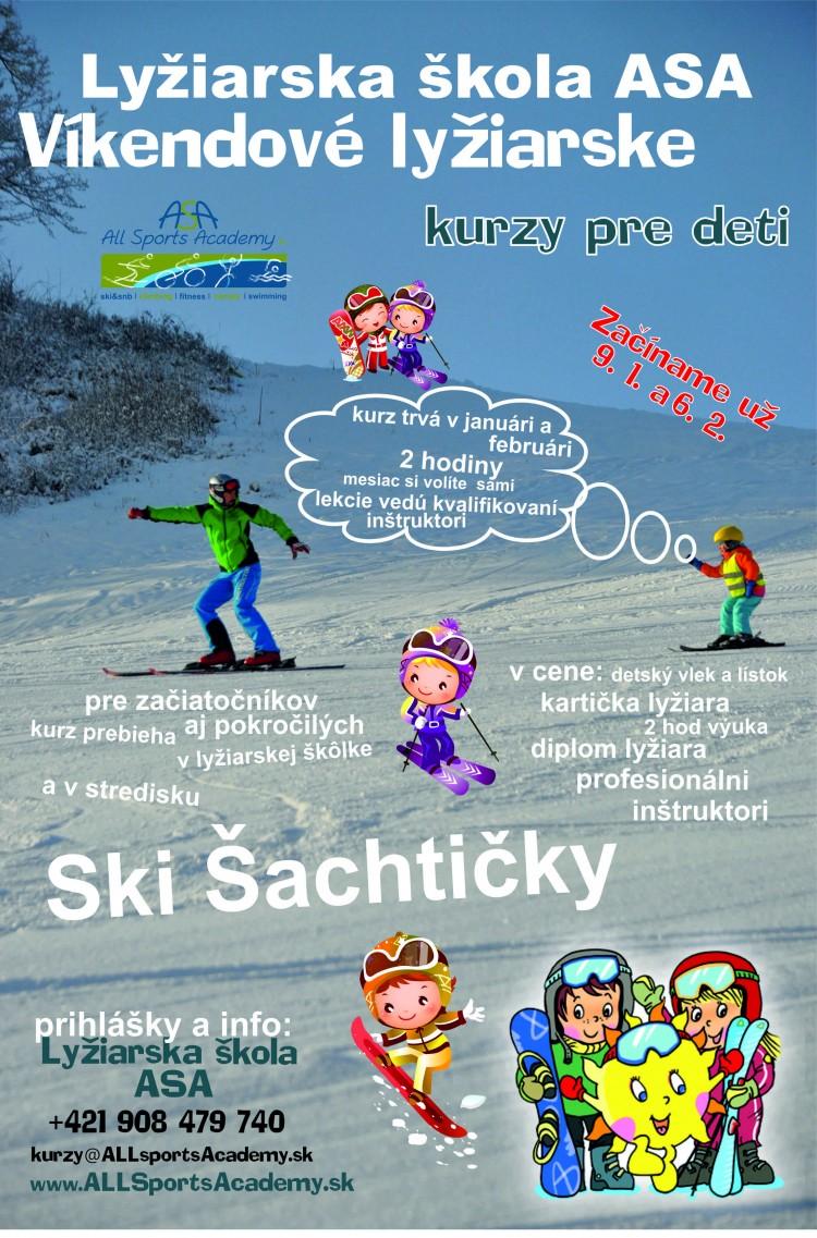 Lyžiarska škola ASA  lyžiarske kurzy – víkendové